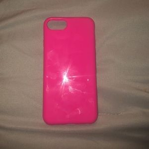Accessories - Hot Pink Iphone 8 Case